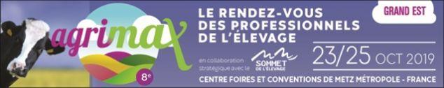 Agrimax du 23 au 25 octobre 2019 à Metz