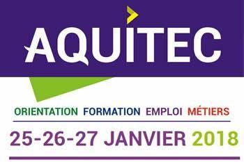 AQUITEC du 25 au 27 janvier 2018 - Bordeaux-Lac