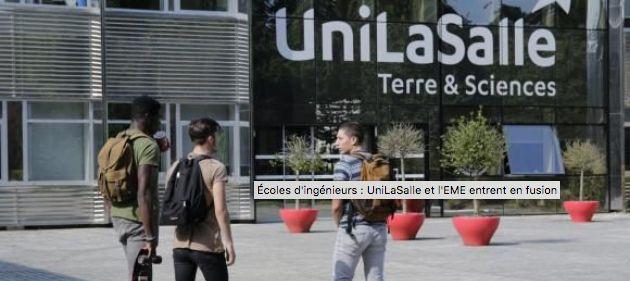 ECOLES D'INGENIEURS : UNILASALLE ET L'EME ENTRENT EN FUSION