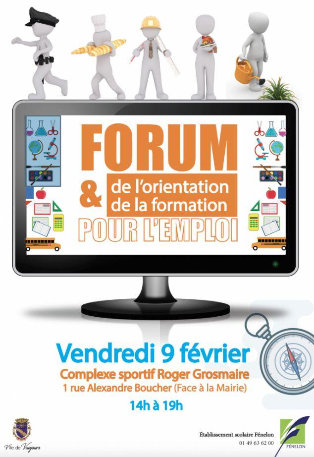 Forum de l'orientation, le 9 février 2018, à Vaujours