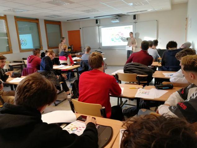 Intervention de l'APECITA Ile de France auprès de BTSA de 1ère année en apprentissage du CFA de St Germain en Laye
