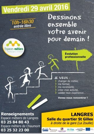 JOURNEE de l'EVOLUTION PROFESSIONNELLE A LANGRES, le 29 Avril 2016