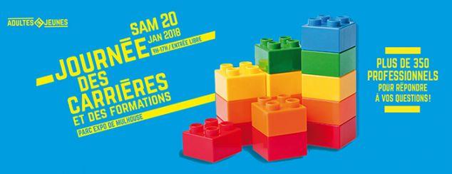 Journée des Carrières et des Formations à Mulhouse, le 20 janvier 2018