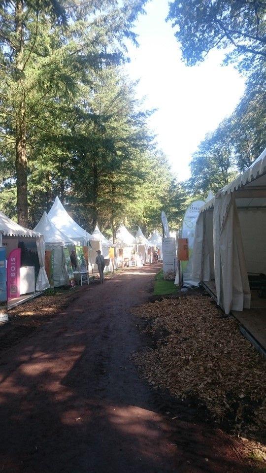 L'Apecita au Salon international EUROFOREST à St Bonnet de Joux (71) en juin 2018