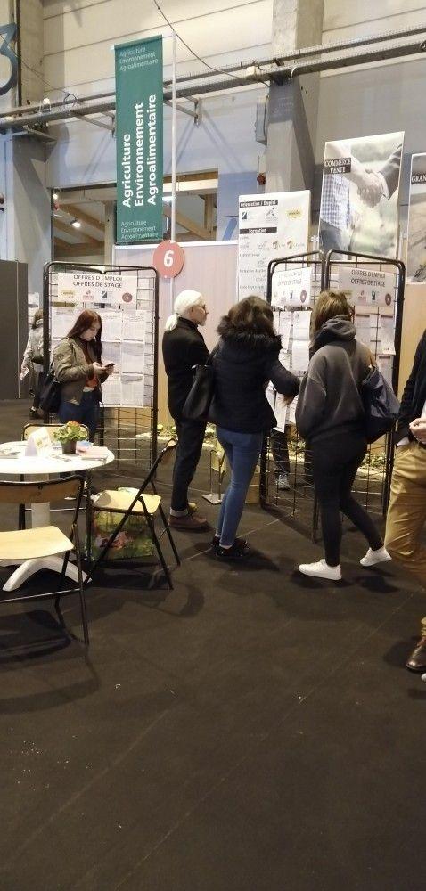 L'APECITA était au Salon Formation Emploi Alsace les 24 et 25 janvier 2020 au Parc des expositions de Colmar