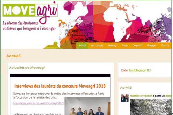 MOVEAGRI, LE Réseau social à l'international de l'enseignement agricole