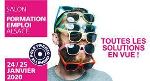 Salon Formation Emploi Alsace les 24 et 25 janvier 2020 au Parc des expositions de Colmar
