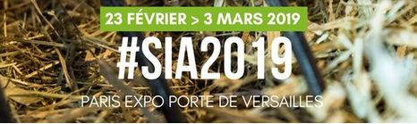 SALON INTERNATIONAL DE L'AGRICULTURE DU 23 FEVRIER AU 3 MARS 2019 A PARIS