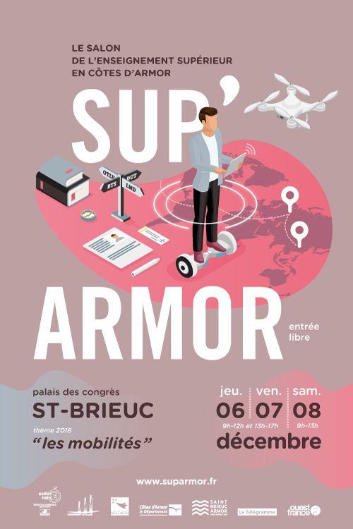 Salon Orientation Sup'Armor les 6 et 7 décembre 2018 à Saint Brieuc