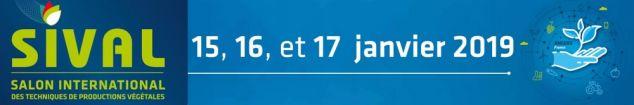 SIVAL DU 15 AU 17 JANVIER 2019 À ANGERS (49)