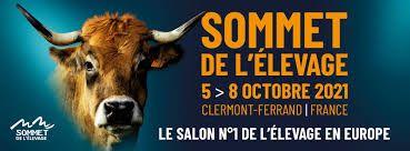 Sommet de l'élevage du 5 au 8 octobre 2021 à Clermont-Ferrand