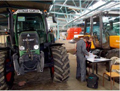Technicien de maintenance des matériels agricoles